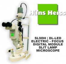 How to look after and care for SL9DH | DL-LED- ELECTRIC - FOCUS DIGITAL MODULE SLIT LAMP MICROSCOPE HANS HEISS