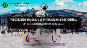 VIII Congreso Nacional y VII Internacional de Optometría - ECUADOR