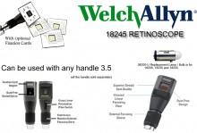 Welch Allyn Elite Streak Retinoscope- 18245