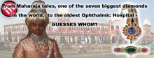The oldest Ophthalmic Hospital on the world. Guesses whom?
