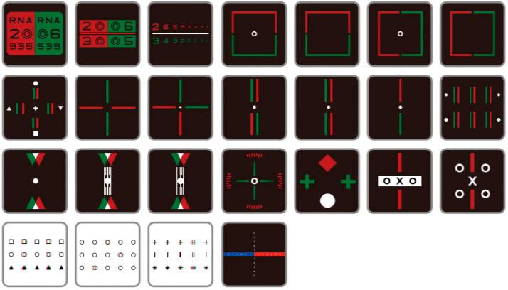 "Digital LCD Chart 24"""