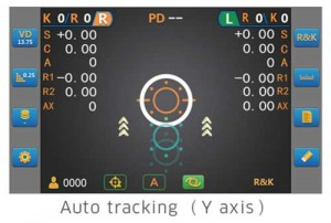 The auto tracking function