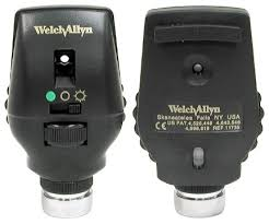 3.5V Coaxial-Plus Ophthalmoscope (gold)