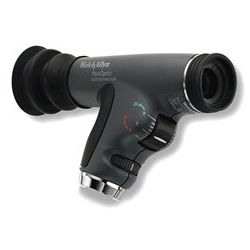 PanOptic Ophthalmoscope w/ Blue Filter and Corneal Magnifying Lens