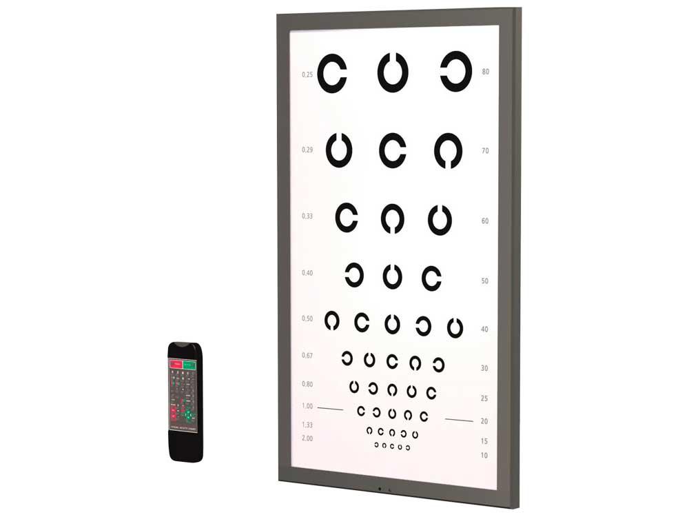 LCD Vision Chart 32
