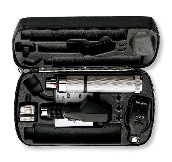 3.5V Streak Retinoscope/11735 Ophthalmic Set w/ Convertible Handle