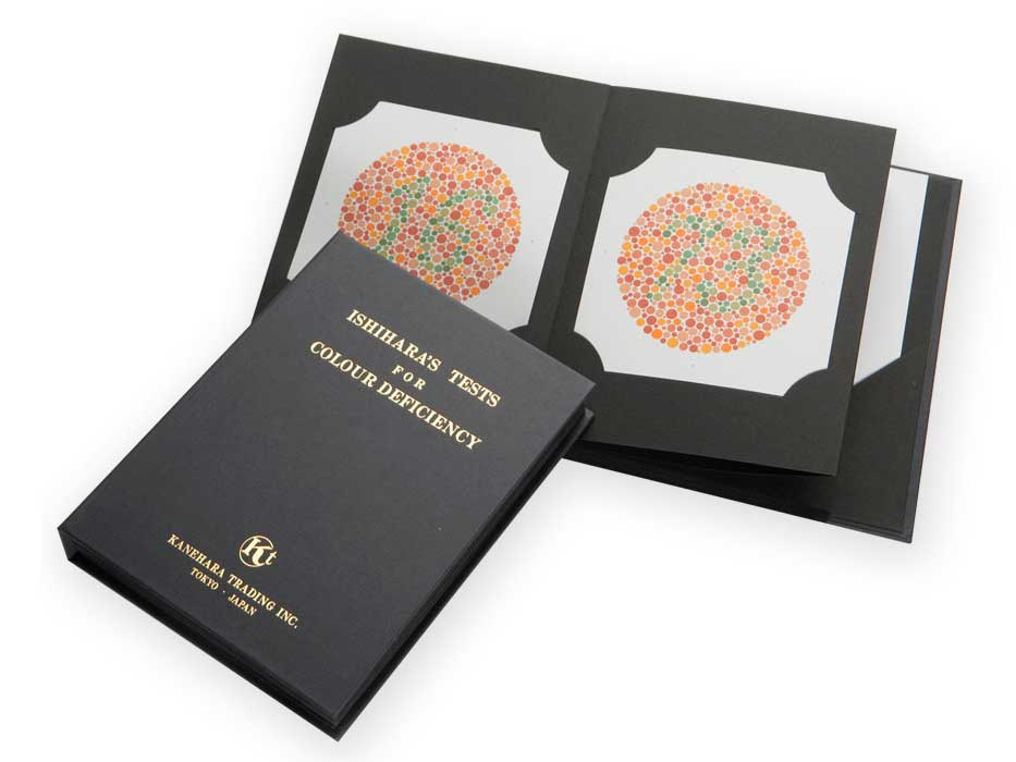 Ishihara Color Vision Test Book – 14 Plate