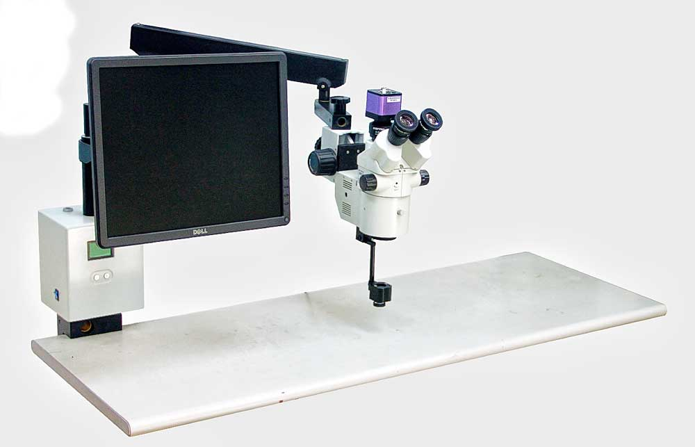 Portable Surgical Microscope for Anterior and Posterior Surgery With Video HSM-630