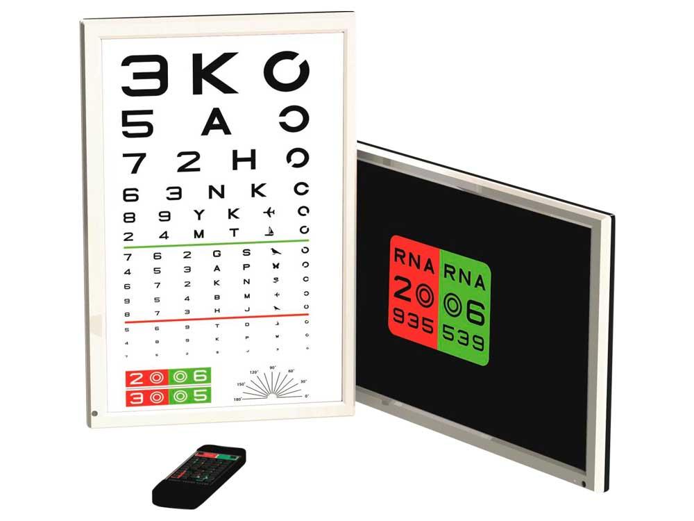 LCD Vision Chart 24