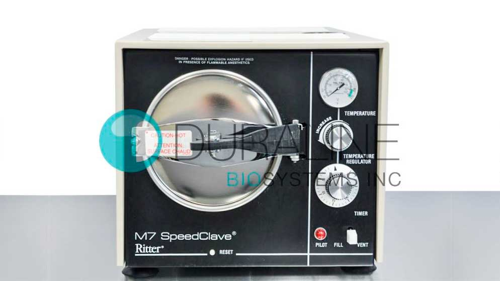 Refurbished Ritter/Midmark M7 Speedclave