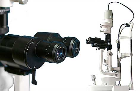Tower style Slit Lamps with 2 magnifications SL-7DC