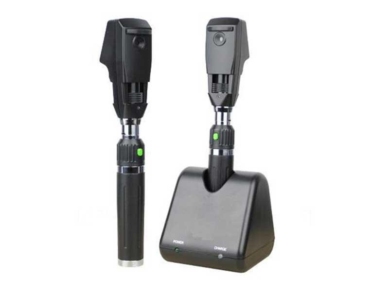 Rechargeable Streak Retinoscope LED (L) /or HALOGEN (H) HDS-007-L / HDS-007-H