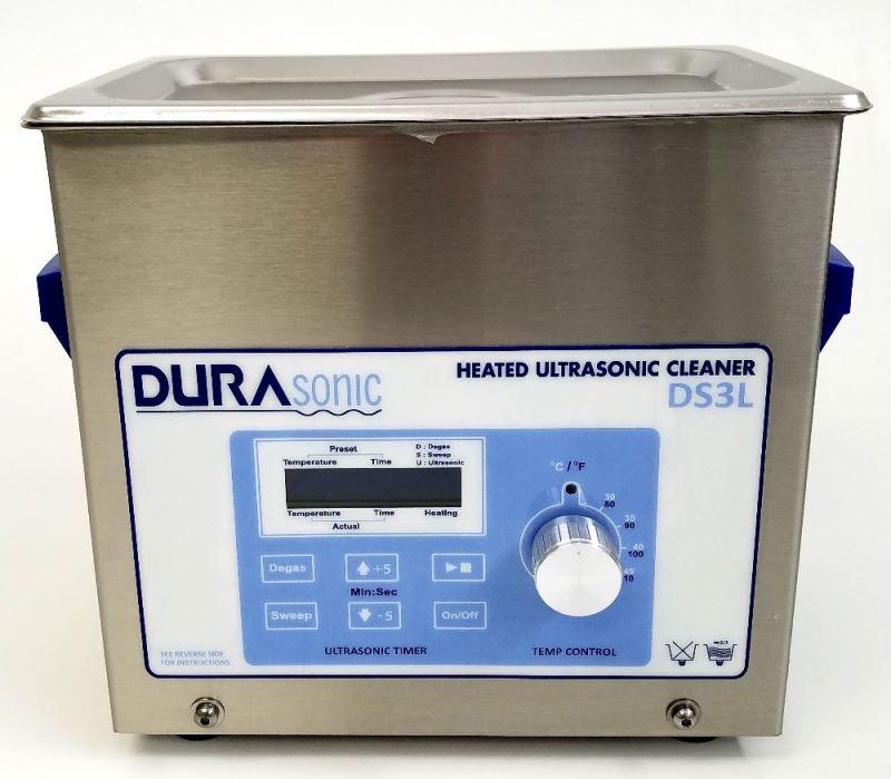 DuraSonic 3/4 Gal Digital Ultrasonic Cleaner