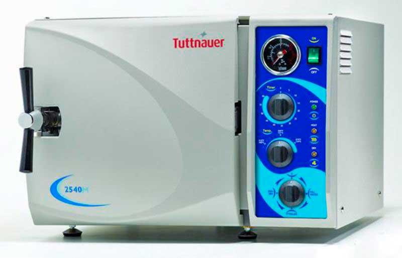 Tuttnauer 2540M Manual Autoclave