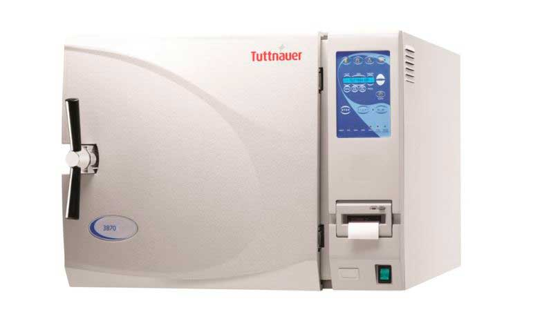 New Tuttnauer 3870EA Fully Automatic Autoclave