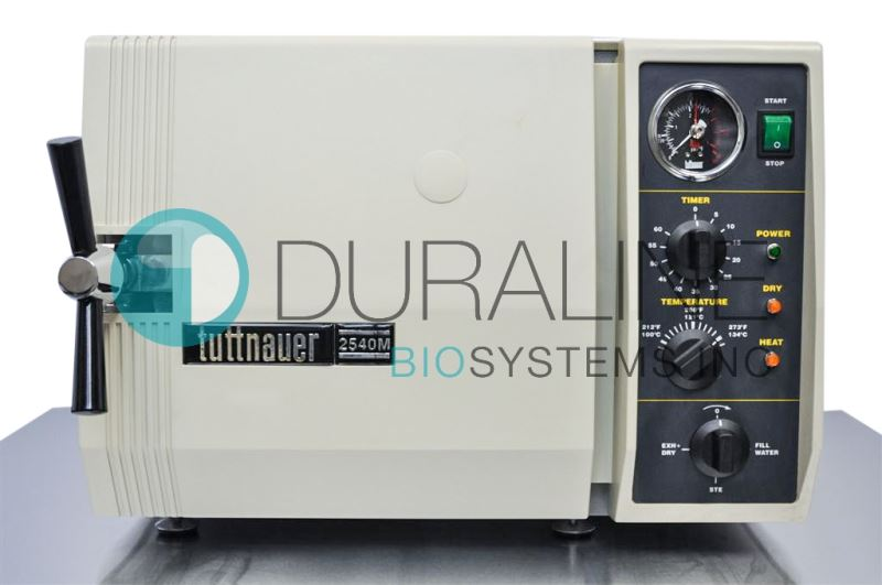 Refurbished Tuttnauer 2540M Autoclave