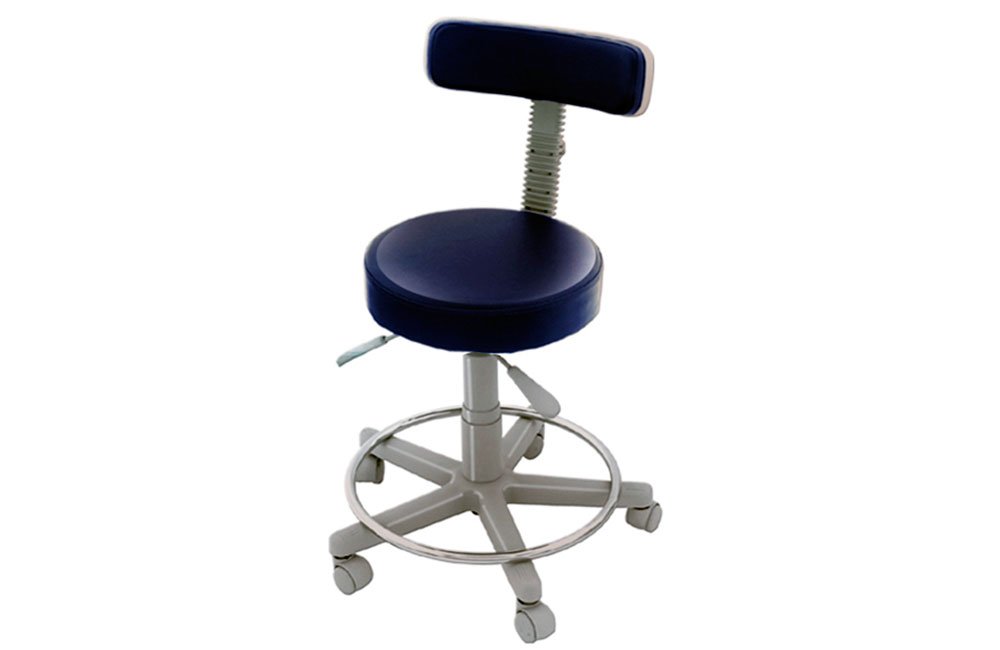 Stool with backrest and footrest HHOU-2005 APM6