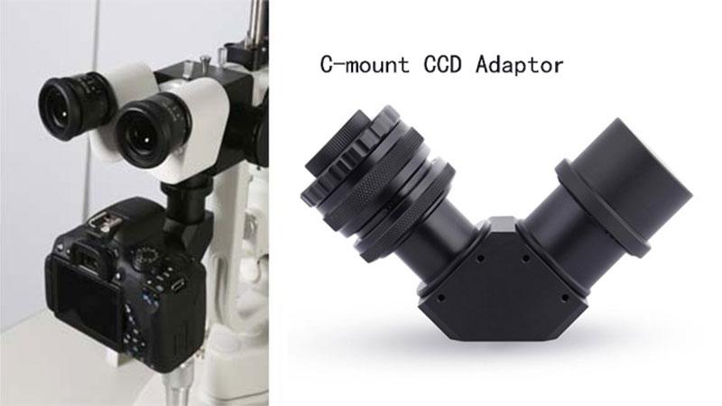 Adaptor for Slit Lamp C-mount CCD
