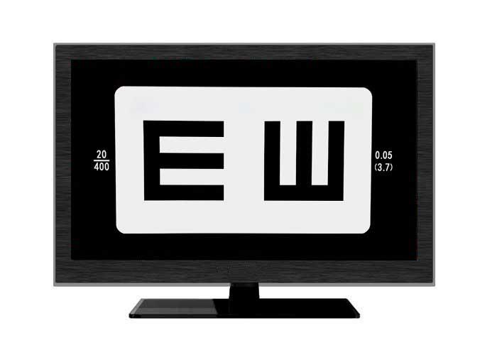 LCD Vision Chart AVC-500