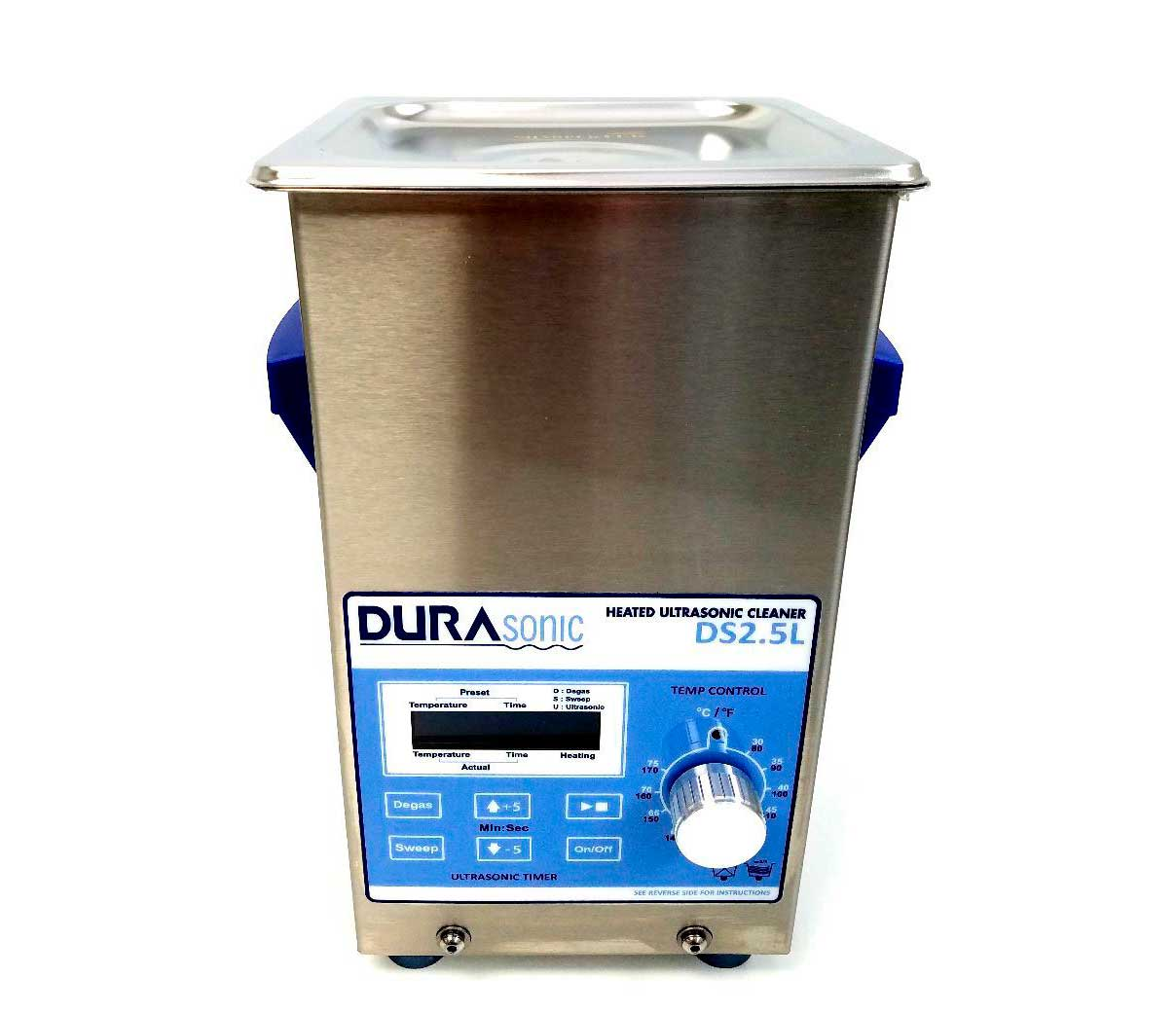 DuraSonic 1/2 Gal Digital Ultrasonic Cleaner