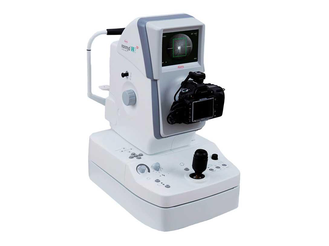 Simultaneous Stereoscopic Retinal Camera Nonmyd WX-3D