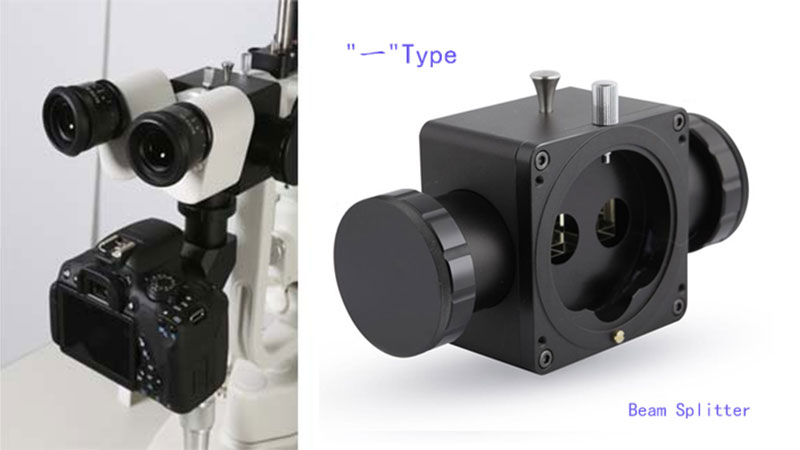 Adaptor for Slit Lamp - Beam Splitter