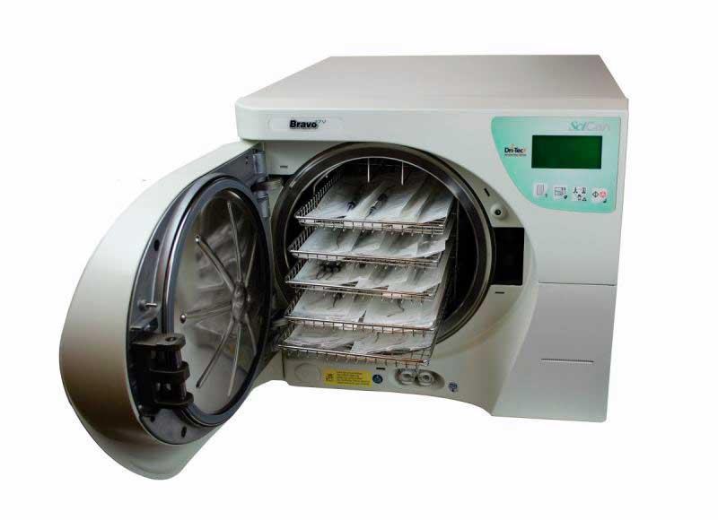 SciCan Bravo 17V Pre/Post Vacuum Autoclave
