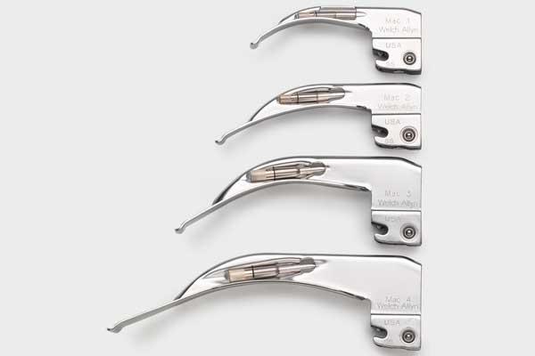 69041 Welch Allyn MacIntosh #1 Standard Laryngoscope Blade