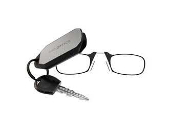 ThinOptics Keychain, Black +1.50