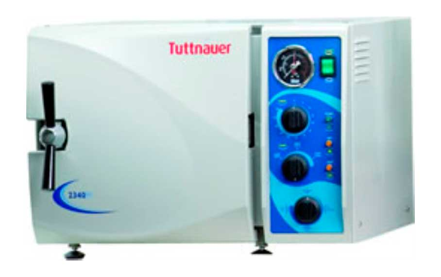 New Tuttnauer 2340M Manual Autoclave