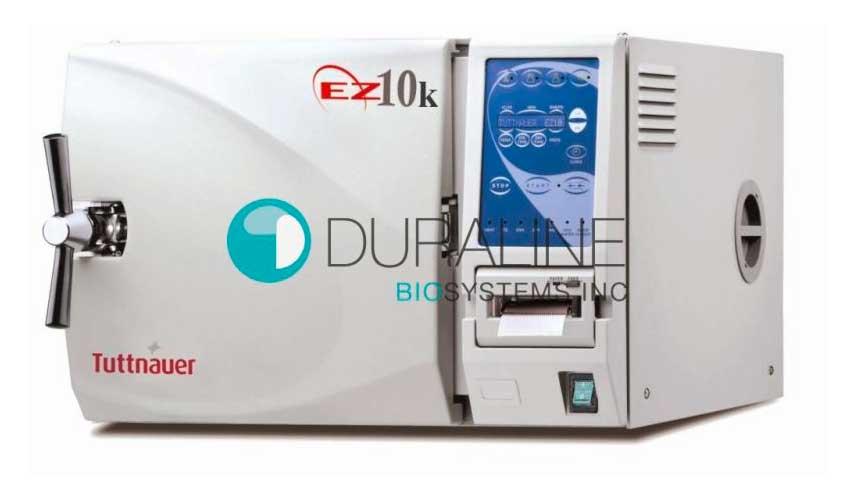New Tuttnauer EZ10KP Kwikclave with Printer