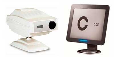 LCD VISION CHART / PROJECTORS